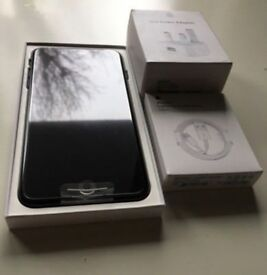 IPHONE 7 PLUS 128GB JET BLACK UNLOCKED BRAND NEW COMES WITH BRAND NEW CHARGER