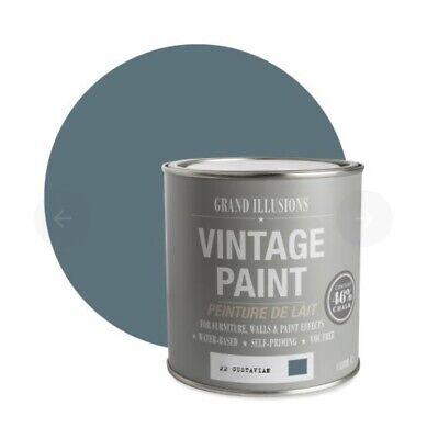 Chalk Paint , Grand Illusions Vintage Paint Lots Of Colours , 1ltr Pots