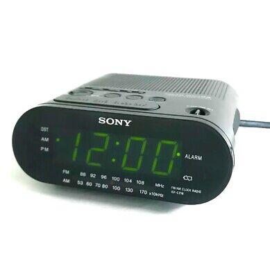 SONY Dream Machine ICF-C218 AM FM Alarm Clock Radio