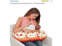 Clevamama 10 in 1 Nursing Pillow Excellent condition
