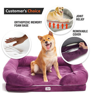 Orthopedic Dog Bed  BRAND NEW– Memory Foam Sofa for Dogs Cats –