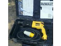 Dewalt hammer drill 110v