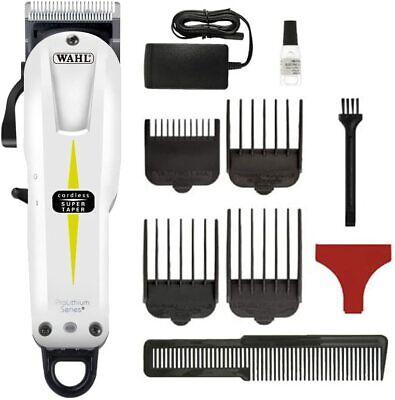 Wahl Prolithium Series Maquina cortapelos, cuchillas cromadas, diseño sin cable