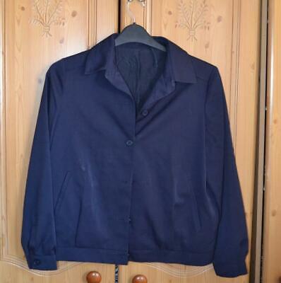 Vintage St Michael men 70s navy jacket, size L
