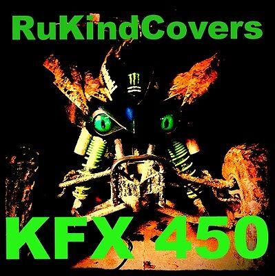 GREEN EYES Headlight Covers Kawasaki  08-18 KFX 450 KFX450R 450R