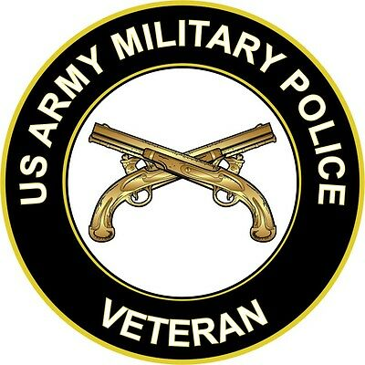 "Army Military Police Veteran 5.5"" Sticker / Decal"