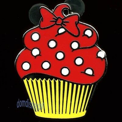 Disney Pin Character *Cupcake* Mini Collection - Minnie Mouse Cake!, used for sale  Marco Island