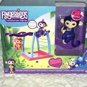Rare Glitter Fingerlings Play Set