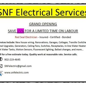 Free electrical estimates. Win an all inclusive vacation