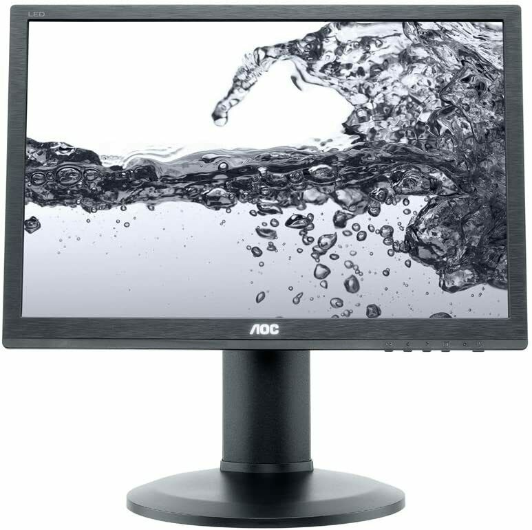 AOC E960PDA (19 Zoll) Monitor Display VGA, DVI, 5 ms Reaktionszeit, 60 Hz