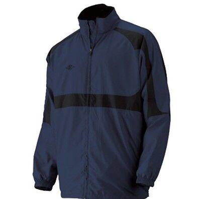 ( Easton Accuracy Hockey Skate Jacket  Navy Blue  Size Medium)
