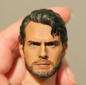 Custom-made-Henry-Cavill-clark-kent-man-of-steel-1-6-figure-HEAD-ONLY