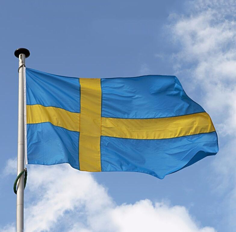 Sweden Flag Polyester the Swedish National Banner 3x5