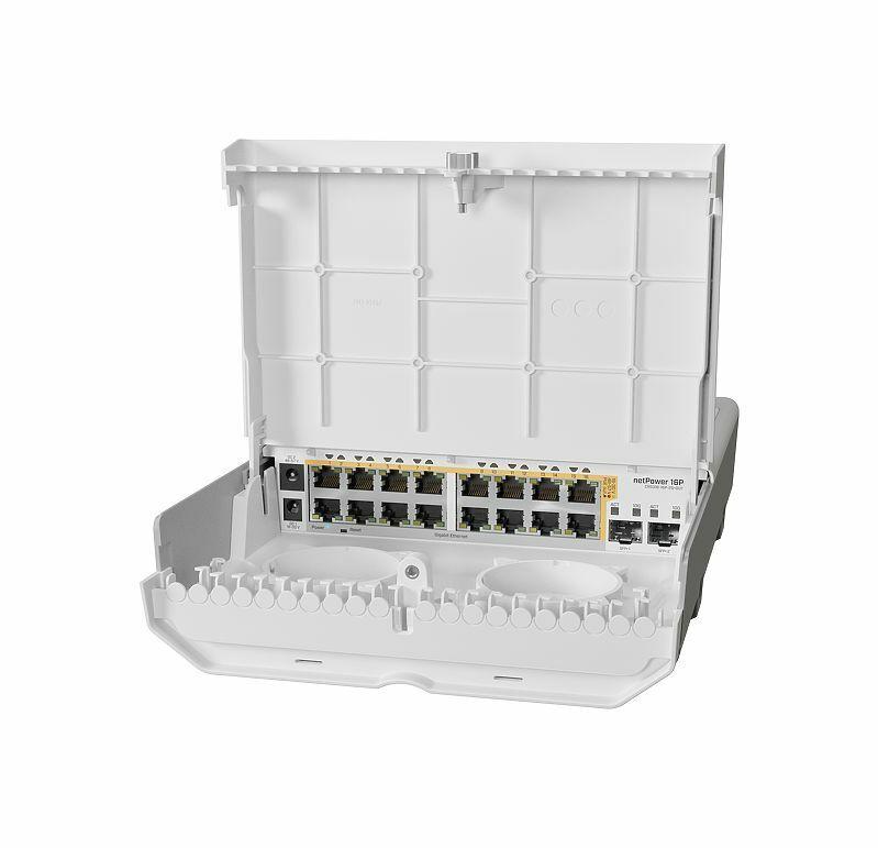 Mikrotik netPower 16P CRS318-16P-2S+OUT