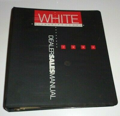 White Outdoor Products Dealers Sales Manual 1992 Tractor Tiller Snow Boss Blower