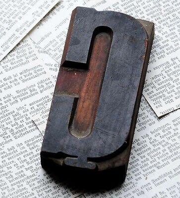 Letter Superb Wood Type 4.92 Woodtype Font Letterpress Printing Block