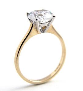 Engagement-Ring-2ct-Solitaire-Diamond-Unique-9ct-Gold