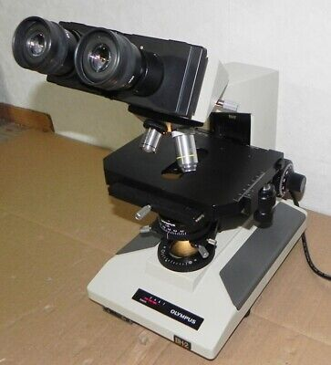 Olympus Bh-2 Microscope Working Bht With Objectives Bh2