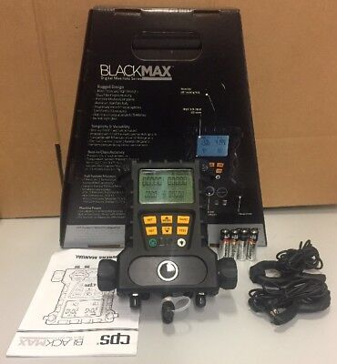 Cps Blackmax 2v Digital Manifold W 60hoses Wvalves Temp Clamps Md50he