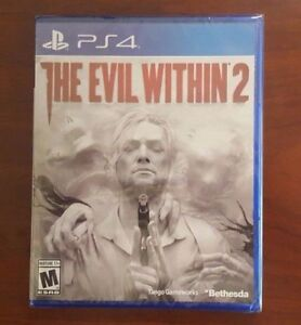 PS4 The Evil Within 2 BRAND NEW SEALED
