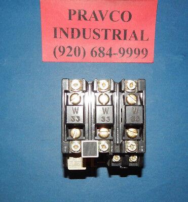Allen Bradley 592-jov16 Series B Overload Relay With W33 Heaters 592jov16