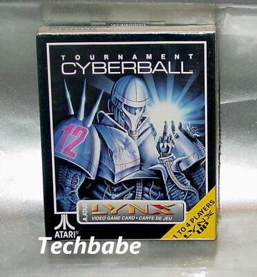 Brand New TOURNAMENT CYBERBALL for Atari Lynx II 1 2 system factory sealed NIB