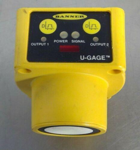 Banner Enginneering QT50UDBQ U-Gage Ultrasonic Sensor                         5E