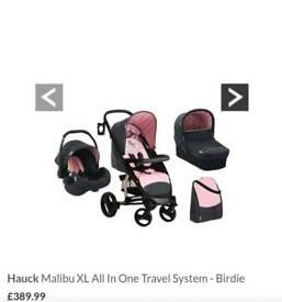 Hauck Malibu Xl Travel System Puschair