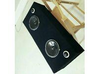 165W Custom Speakers Component Set