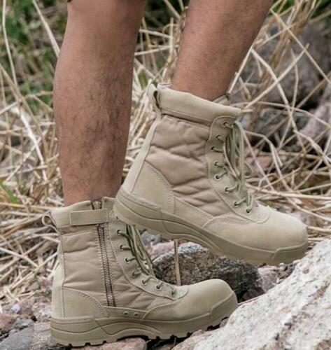 Mens Summer Waterproof Combat Boots Tactical Outdoor Hiking Boots SWAT Shoes 511