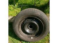 Citroen dispatch spare wheel