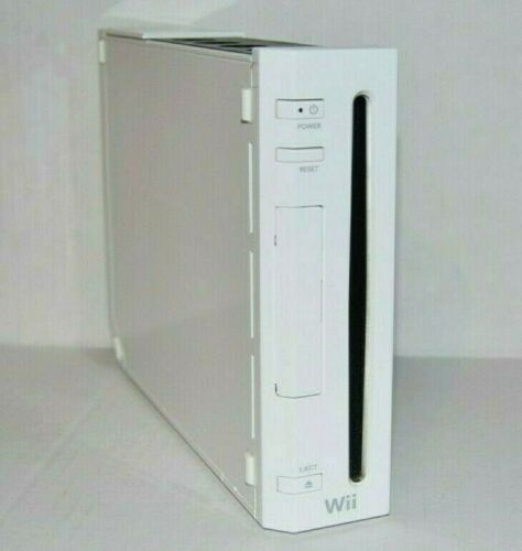 Nintendo Wii White Working Replacement Console ONLY RVL-001 GameCube Compatible