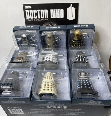 Eaglemoss Doctor Who: The Daleks Parliament Set 2 w/ Magazine 9 Out Of 10