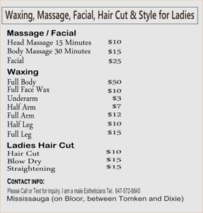 Low Prices : Waxing, Threading, Facial, Hair Cut & Style