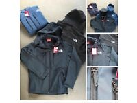North face wind sheeters £40