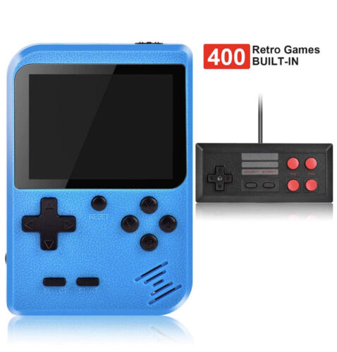 100Handheld Game Console!!! Built-in 400 in 1 Game pad USA Best Seller Red color