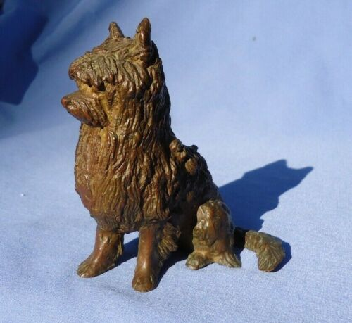 "BRONZE CAIRN NORWICH WEST HIGHLAND TIBETAN TERRIER 5"" DOG"