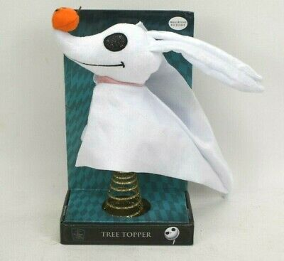 NEW Nightmare Before Christmas Zero Ghost Dog Christmas Tree Topper Exclusive