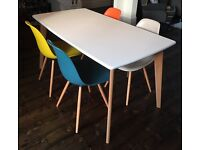Fjord dining table from Made