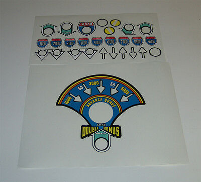 NIGHT RIDER Pinball Machine Playfield Insert Decal Set