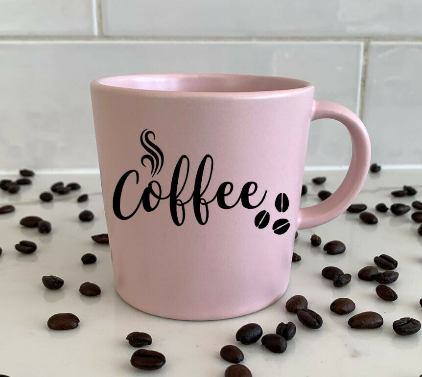 Home Decoration - Coffee Vinyl decal, Wall decal, window sticker