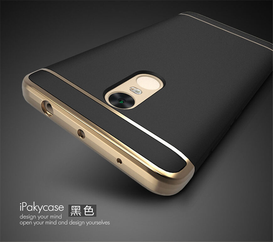 Luxury Shockproof Hybrid Pc Back Case Cover For Xiaomi A1 5X 5S Redmi Note 4X 5A