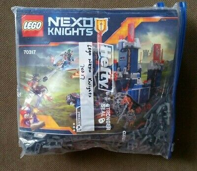 LEGO Nexo Knights The Fortrex 70317 w/ Figures, Manual