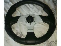 Momo 330mm steering wheel drift kit car modded