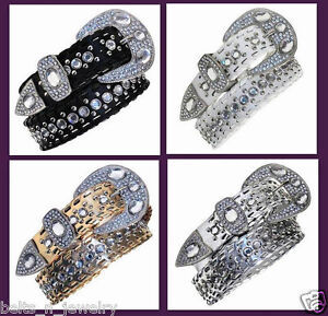 Western-Rhinestone-Belt-Rodeo-Horse-Bling-Cowgirl-Girl-Woman-Wholesale-1103