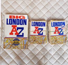 London Street maps £1 each