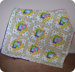 Your baby deserve a quilt like this!!