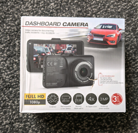 Dashboard Camera Full HD 1080p BNIB