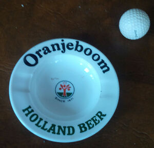 Oranjeboom Holland Beer Glass Ash Tray Made in France