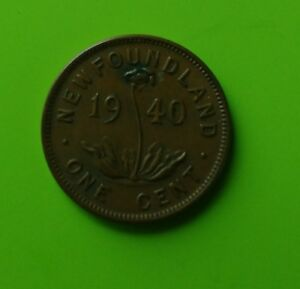 Newfoundland Small Cent....mint years 1940, 41, 42, 43.